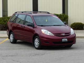 Used 2006 Toyota Sienna CE,LOW KMS,DEALER SERVICED for sale in Mississauga, ON
