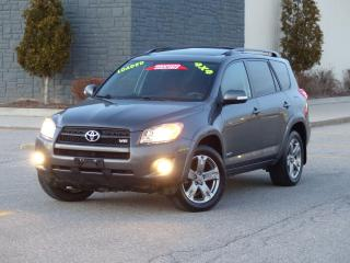Used 2011 Toyota RAV4 4WD,SPORT,FULLY LOADED,DEALER SERVICED,NO-ACCIDENT for sale in Mississauga, ON