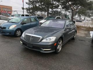 Used 2011 Mercedes-Benz S450 4MATIC $17888,NAV,B,U/CAMERA,SAFETY3YEARS WARRANTY INCLUD for sale in Toronto, ON