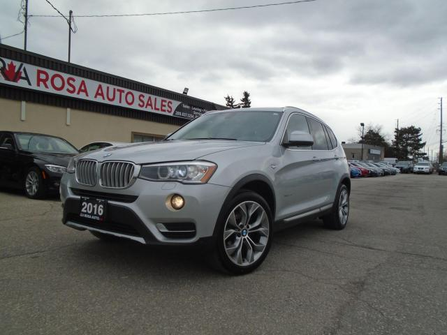 2016 BMW X3 AWD 4dr xDrive28i NAVIGATION PANORAMIC B-CAMERA