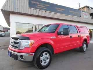 Used 2013 Ford F-150 XLT, SUPER CREW, 4WD for sale in Mississauga, ON