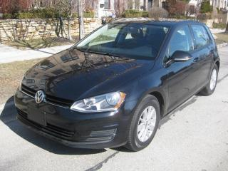 Used 2016 Volkswagen Golf CERTIFIED, NO ACCIDENTS, BCK CAMERA, BLUETOOTH A1 for sale in Toronto, ON