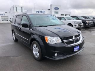 Used 2017 Dodge Grand Caravan CREW - Stow-and-go Seating for sale in Kingston, ON