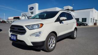 Used 2018 Ford EcoSport SE FWD - SEAT HEAT, BLUETOOTH, MOON ROOF for sale in Kingston, ON