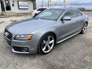 Used 2010 Audi A5 2dr Cpe Auto 3.2L, Premium, S-Line, 2 sets tires for sale in Halton Hills, ON