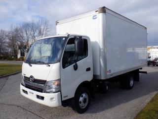 Used 2016 Hino 155 Cube Van 16 Foot Diesel 3 Passenger for sale in Burnaby, BC