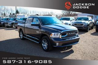 Used 2017 RAM 1500 Limited - Parking Sensors, Leather, NAV for sale in Medicine Hat, AB
