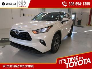 New 2020 Toyota Highlander XLE AWD for sale in Moose Jaw, SK