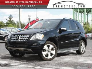 Used 2010 Mercedes-Benz ML-Class DIESEL| NAVIGATION | SUNROOF | POWER TAILGATE | HEATED LEATHER for sale in Stittsville, ON