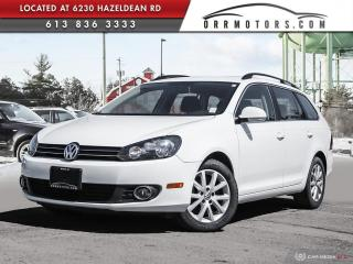 Used 2012 Volkswagen Golf 2.0 TDI Comfortline DIESEL WAGON | LOW KMS | HEATED SEATS | POWER OPTIONS for sale in Stittsville, ON