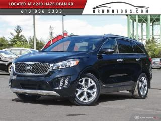Used 2017 Kia Sorento 3.3L SX+ NAVIGATION | REVERSE CAM | PANORAMIC ROOF | LEATHER for sale in Stittsville, ON