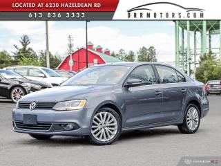 Used 2012 Volkswagen Jetta 2.0 TDI Highline DIESEL | SUNROOF | HEATED LEATHER | BLUETOOTH for sale in Stittsville, ON