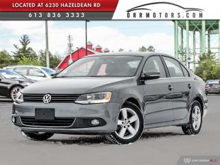 Used 2013 Volkswagen Jetta 2.0 TDI Comfortline DIESEL | SUNROOF | BLUETOOTH | HEATED SEATS for sale in Stittsville, ON