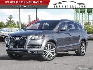 Used 2011 Audi Q7 3.0 TDI Premium DIESEL | ONE OWNER | NAVIGATION | REVERSE CAM | BLUETOOTH for sale in Stittsville, ON