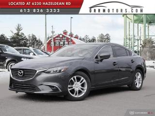 Used 2017 Mazda MAZDA6 GT LOW KMS | NAVIGATION | REVERSE CAM | SUNROOF | BLUETOOTH for sale in Stittsville, ON
