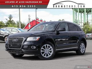 Used 2015 Audi Q5 2.0T Progressiv AWD | SUNROOF | BLUETOOTH | HEATED LEATHER for sale in Stittsville, ON