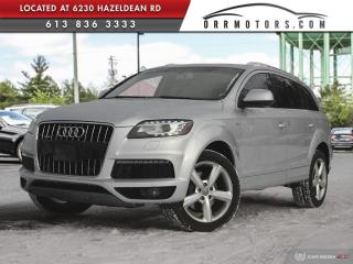 Used 2011 Audi Q7 3.0 TDI Premium DIESEL | NAVIGATION | REVERSE CAM | LEATHER | SUNROOF for sale in Stittsville, ON
