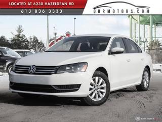Used 2015 Volkswagen Passat 1.8 TSI Trendline MANUAL | REVERSE CAM | BLUETOOTH | HEATED SEATS for sale in Stittsville, ON