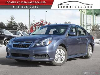 Used 2014 Subaru Legacy 2.5i AWD | ONE OWNER | HEATED SEATS | POWER OPTIONS for sale in Stittsville, ON