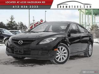 Used 2013 Mazda MAZDA6 GS-I4 6SPD MANUAL | SUNROOF | HEATED SEATS | POWER OPTIONS for sale in Stittsville, ON
