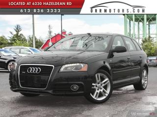 Used 2012 Audi A3 2.0T Progressiv REDUCED PRICING UNTIL MAY 6TH!   AWD | BLUETOOTH | HEATED LEATHER | POWER OPTIONS for sale in Stittsville, ON