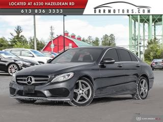 Used 2015 Mercedes-Benz C-Class C400 | AWD | ONE OWNER | LOW KMS | REVERSE CAM for sale in Stittsville, ON