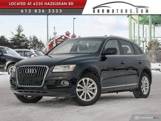 Used 2016 Audi Q5 2.0T Progressiv ONE OWNER | NAVIGATION | SUNROOF | BLUETOOTH | LEATHER for sale in Stittsville, ON