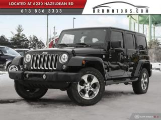 Used 2016 Jeep Wrangler Unlimited Sahara 4X4 | POWER GROUP | AUTOMATIC | ALLOY WHEELS for sale in Stittsville, ON