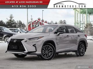 Used 2017 Lexus RX 350 F-SPORT 2 | ONE OWNER | NAVIGATION | REVERSE CAM | SUNROOF for sale in Stittsville, ON