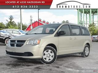 Used 2013 Dodge Grand Caravan SE/SXT 7 PASSENGER | LOW KMS | STOW'N'GO | CRUISE | POWER OPTIONS for sale in Stittsville, ON
