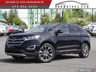 Used 2016 Ford Edge Titanium LOW KMS | TITANIUM AWD! for sale in Stittsville, ON