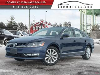 Used 2012 Volkswagen Passat 2.0 TDI Highline DIESEL | ONE OWNER | LOW KMS | SUNROOF | BLUETOOTH for sale in Stittsville, ON