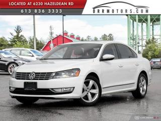 Used 2012 Volkswagen Passat 2.0 TDI Comfortline DIESEL | SUNROOF | BLUETOOTH | HEATED LEATHER for sale in Stittsville, ON