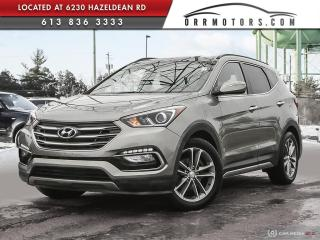 Used 2017 Hyundai Santa Fe Sport 2.0T Limited LOW KMS | ONE OWNER | NAVIGATION | REVERSE CAM | BLUETOOTH for sale in Stittsville, ON