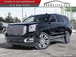 Used 2017 GMC Yukon Denali LOW KMS | NAVIGATION | REVERSE CAM | BLUETOOTH for sale in Stittsville, ON