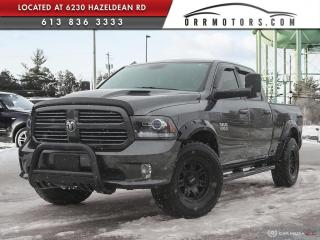 Used 2016 RAM 1500 Sport CREW CAB | SPORT | ONE OWNER | LOW KMS | for sale in Stittsville, ON