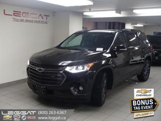 New 2020 Chevrolet Traverse RS - Power Liftgate for sale in Burlington, ON