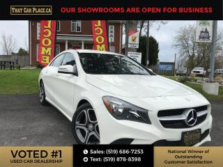 Used 2016 Mercedes-Benz CLA-Class NAVI-Backup-Htd Lthr Seats-Bluetooth-Alloys for sale in London, ON