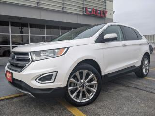 Used 2017 Ford Edge Titanium*Leather* Roof*Nav* Bluetooth for sale in Chatham, ON