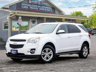 Used 2011 Chevrolet Equinox 1LT, LOW KMS, REMOTE START, ECO MODE for sale in Orillia, ON