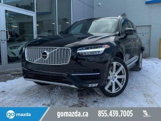 Used 2018 Volvo XC90 INSCRIPTION T6 FULL LOAD BEAUTIFUL CONDITION for sale in Edmonton, AB
