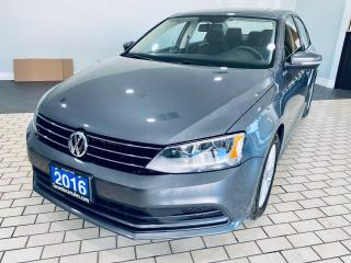 Used 2016 Volkswagen Jetta TRENDLINE+/NO ACCIDENT/SUROOF/ALLOY/REAR VIEW for sale in Brampton, ON