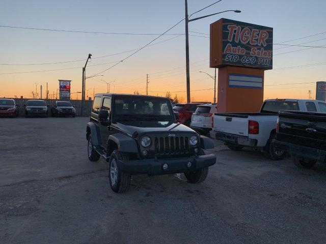 2016 Jeep Wrangler SPORT**AUTO**4X4**HARD TOP**ONLY 68KMS**CERTFIED