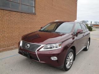 Used 2014 Lexus RX 350 NAVI/CAMERA/DVD/LEATHER/SUNROOF for sale in Oakville, ON