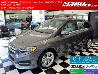 Used 2016 Mercedes-Benz B-Class B250 4Matic+Adaptive Cruise+Pano Roof+Camera for sale in London, ON