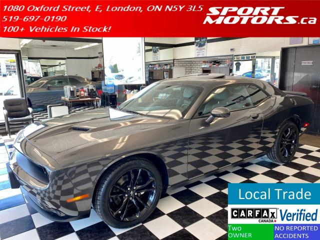 2018 Dodge Challenger SXT Plus+Sunroof+Camera+GPS+New Tires+Cooled Seats