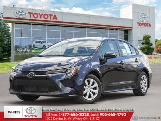 New 2020 Toyota Corolla LE CVT LE for sale in Whitby, ON