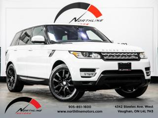 Used 2017 Land Rover Range Rover Sport Td6 HSE|Navigation|Pano Roof|Lane Departure|Camera for sale in Vaughan, ON