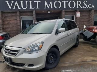 Used 2007 Honda Odyssey 5dr Wgn EX-L NO ACCIDENTS! LEATHER! for sale in Brampton, ON