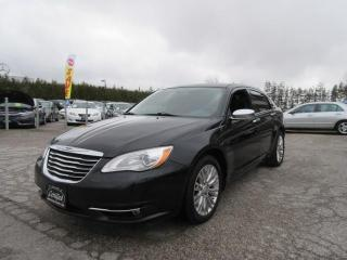 Used 2011 Chrysler 200 4dr Sdn Limited for sale in Newmarket, ON